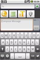 Screenshot of SMS Composer