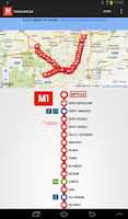 Screenshot of MetroMilan