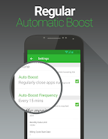 Screenshot of Booster for Android - FREE