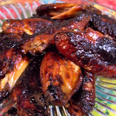 Easy Mahogany Chicken Wings