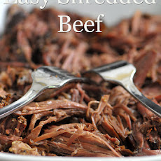 Slow Cooker Shredded Beef