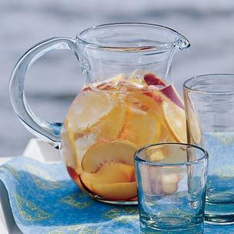 ... ice with fruits white sangria with summer fruits recipes dishmaps