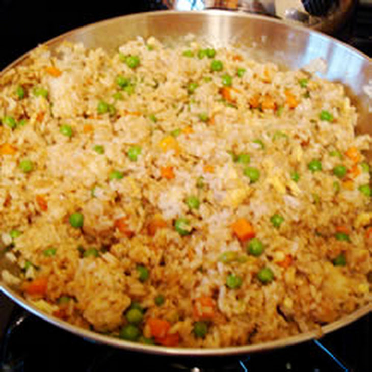 fried rice with shrimp and chicken chinese chicken fried rice ii
