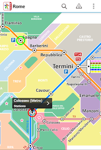 Rome Metro by Zuti - screenshot