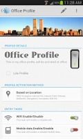 Screenshot of Profile Flow