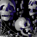 Halloween Skulls LiveWallpaper icon