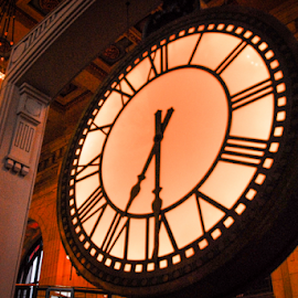 Big Clock by D Clark  / B  Worthington - Artistic Objects Other Objects ( time, clock, big, large )