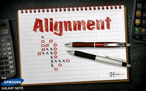 Alignment exclu Galaxy note