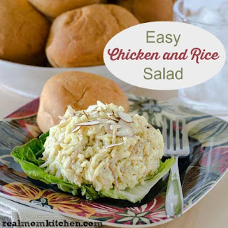 Chicken Rice Salad With Mayonnaise Recipes