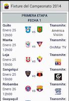 Screenshot of Futbol Ec
