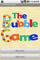 Screenshot of The Bubble Game