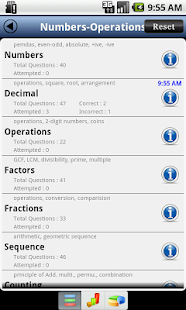 GRE Numbers & Operation - screenshot