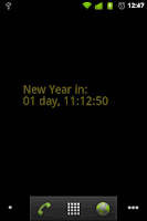 Screenshot of New Year Countdown Wallpaper