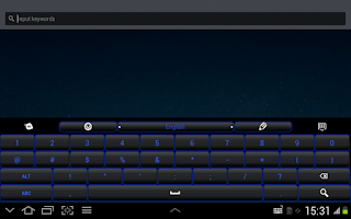 Screenshot of Blue Light Keyboard