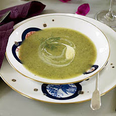 Zucchini-and-Fennel Soup