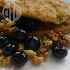 Fruit And Nut Pancake