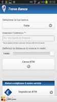Screenshot of Trova Banca