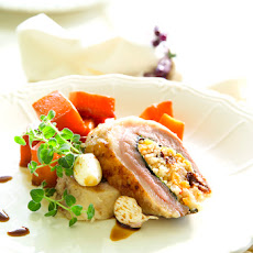 Duck Breast Stuffed With Dried Fruits