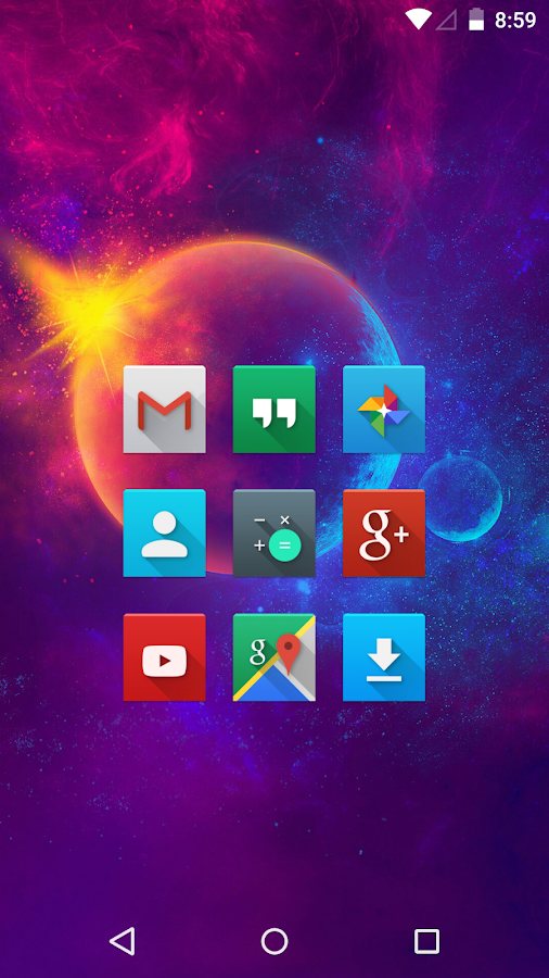 Nox - Icon Pack Screenshot 0