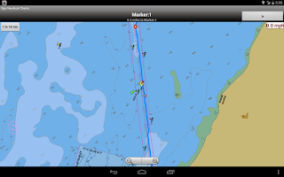 Screenshot of Marine Navigation/Chart-Canada