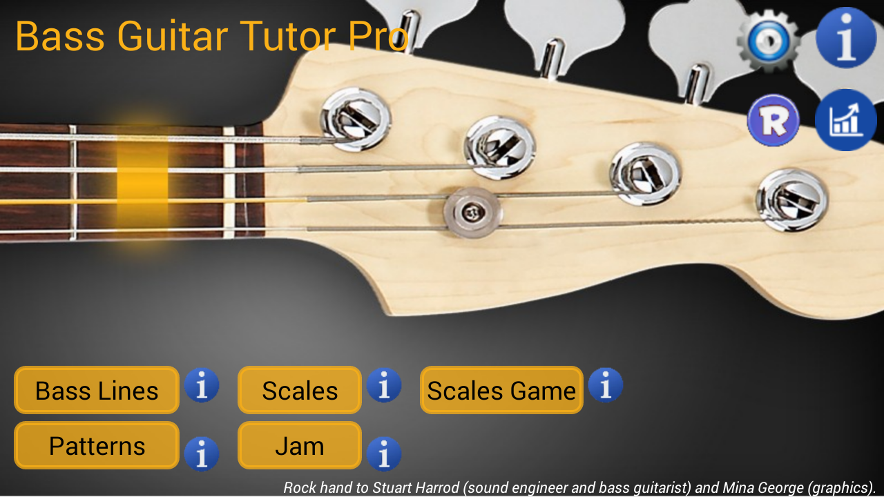 Bass Guitar Tutor Pro Screenshot 1