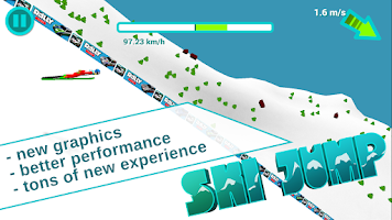 Screenshot of Ski Jump