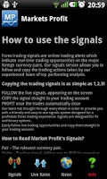 Screenshot of Forex Signals