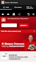Screenshot of Home Hardware