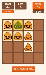 Super Poopy 2048 - Mix Up! - screenshot