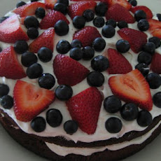 Easy Brownie Berry Shortcake