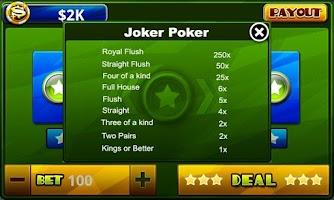 Screenshot of Video Poker™-Poker Casino Game