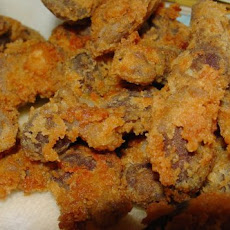 Pam's Tender Fried Chicken Gizzards