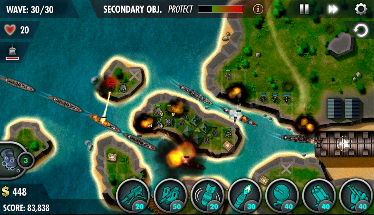 iBomber Defense Pacific Screenshot 14