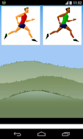 Screenshot of running game