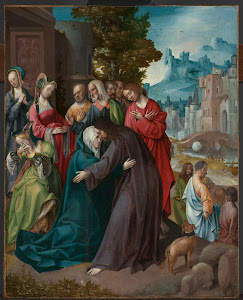 RIJKS: Cornelis Engebrechtsz.: Christ Taking Leave of his Mother 1520
