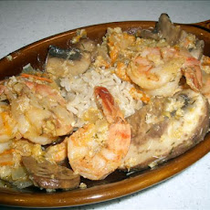 Crab and Shrimp Saute - Louisiana Style