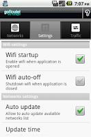 Screenshot of goRoute! Wifi Manager