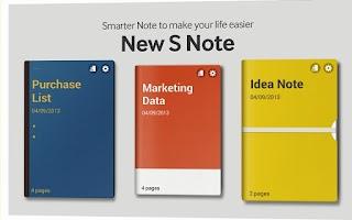 Screenshot of Galaxy Note10.1 Retailmode
