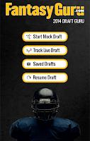Screenshot of Draft Guru by FantasyGuru.com
