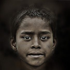 son of soil.... by Arnab Bhattacharyya - Babies & Children Child Portraits
