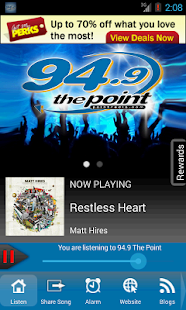 94.9 The Point, Sound of Now - screenshot