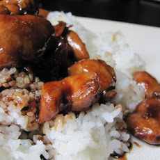 The Best Bourbon Chicken!