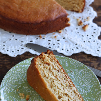 Honey Cardamom Snack Cake