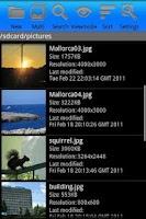 Screenshot of AndroPic