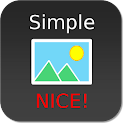 Nice Simple Photo Widget