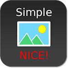 Nice Simple Photo Widget icon