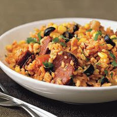 Red Rice with Chorizo