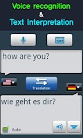 Screenshot of RightNow German Conversation