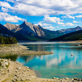 by Carla Chidiac - Landscapes Travel ( mountains, alberta, canada, beautiful, rocky mountains )