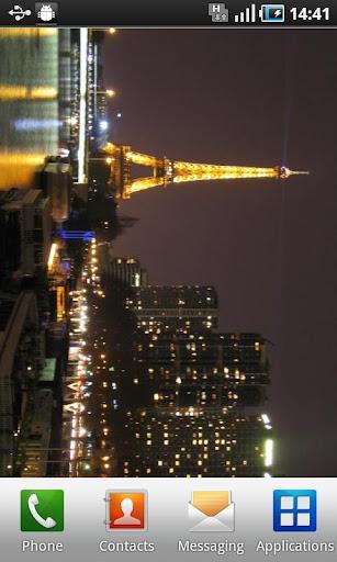 ParisNightLiveWallpaper